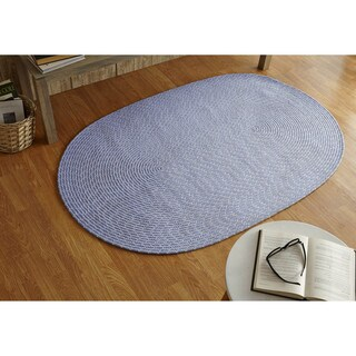 Sunsplash Indoor/ Outdoor Oval Braided Rug (3'6 x 5'6) by Better Trends