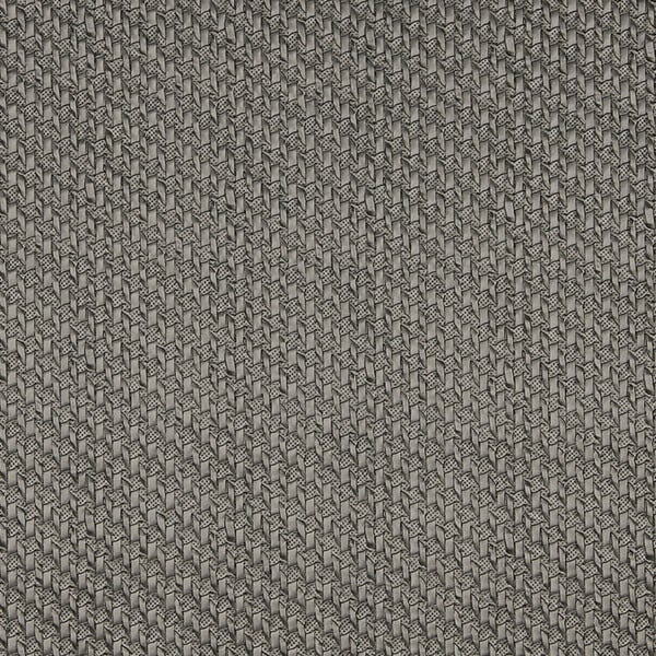 G786 Silver Metallic Cross Hatch Upholstery Faux Leather (By The Yard)