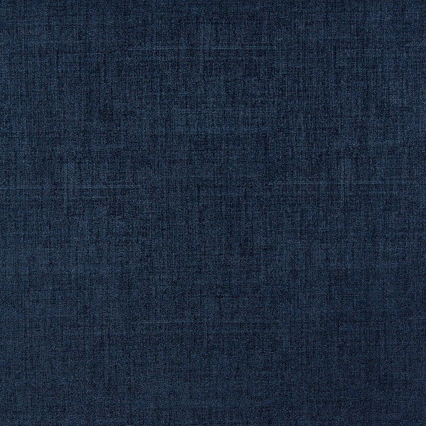 G869 Dark Blue Linen/ Denim Look Faux Leather Polyurethane (By The Yard)