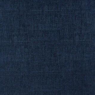 G869 Dark Blue Linen/ Denim Look Faux Leather Polyurethane (By The Yard)
