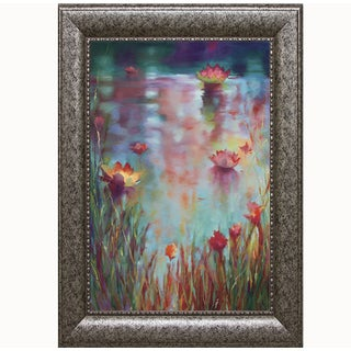 Donna Young- Garden Reeds, 28 x 40 Framed Art Print