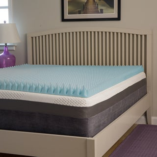 Slumber Perfect Highloft Supreme 3-inch Convoluted Gel Memory Foam Topper