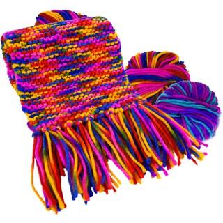 Soda Pop Scarf Knitting Kit Berry Licious