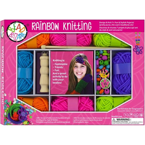 Rainbow Knitting Kit