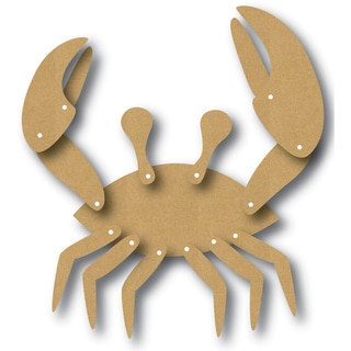 EyeConnect Chipboard Totem Poppet Crab, 4inX4.5in
