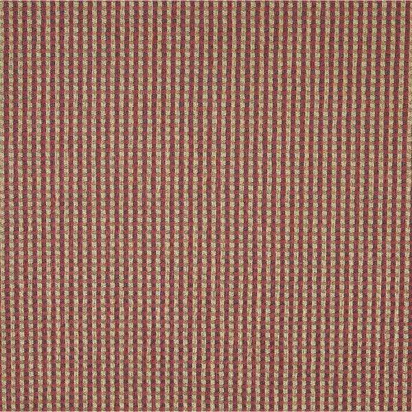 J742 Blue Beige Red Green Check Southwest Lodge Upholstery Fabric (By The Yard)