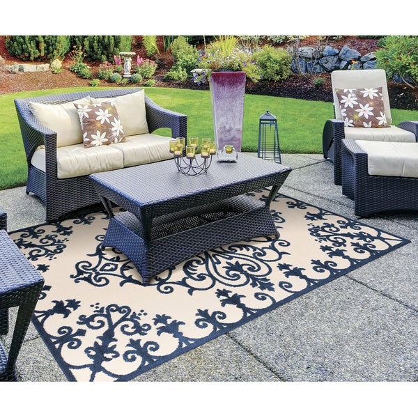 Nourison Aloha Indoor Outdoor Area Rug 7 10 X 10 6