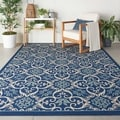 Nourison Caribbean Indoor/ Outdoor Graphic Area Rug (7'10 x 10'6)