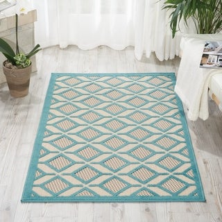 Nourison Aloha Indoor/Outdoor Geometric Rug (2'8 x 4')