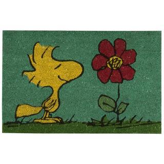 Peanuts Nourison Welcome Blue Door Mat (1'6 x 2'4)