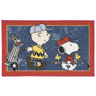 Peanuts by Nourison Friends Blue Accent Rug (1'6 x 2'6)