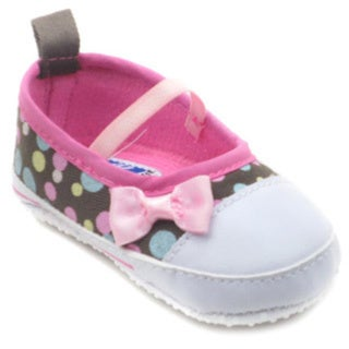 Blue Baby Girls' 'Chazz' Polka Dot Shoes