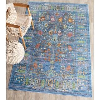 Safavieh Valencia Blue/ Multicolor Rug (8' x 10')