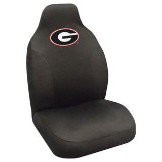 Fanmats Georgia Bulldogs CollegiateBlack Seat Cover