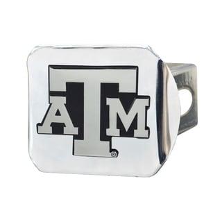 Fanmats Texas A&M Aggies Chrome Metal Collegiate Hitch Cover
