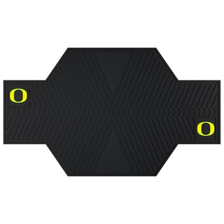 Fanmats Oregon Ducks Black Rubber Motorcycle Mat