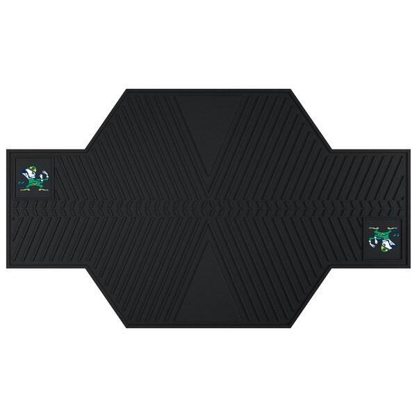 Fanmats Notre Dame Fighting Irish Black Rubber Motorcycle Mat