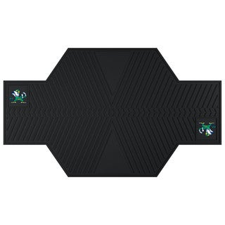 Fanmats Notre Dame Fighting Irish Black Rubber Motorcycle Mat