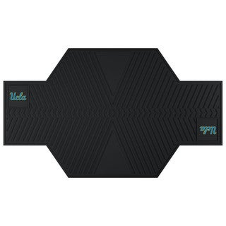 Fanmats UCLA Bruins Black Rubber Motorcycle Mat
