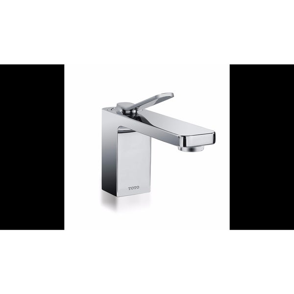 Toto TL170SDLQ#CP Kiwami Renesse Single-handle Polished Chrome Lavatory Faucet with Pop-up Drain