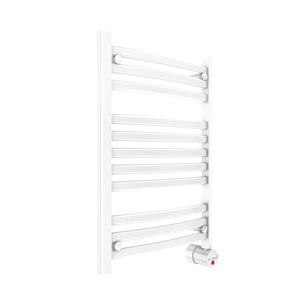 Mr. Steam W228 Wh Wall Mounted Curved White Towel Warmer
