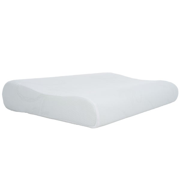 Windsor Home Blue Contour Memory Foam Bed Pillow