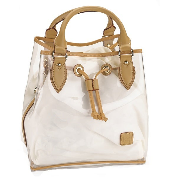 D by Dominie Large Clear Jelly Tote