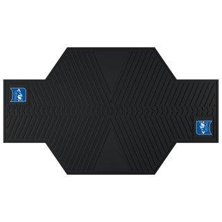 Fanmats Duke Blue Devils Black Rubber Motorcycle Mat