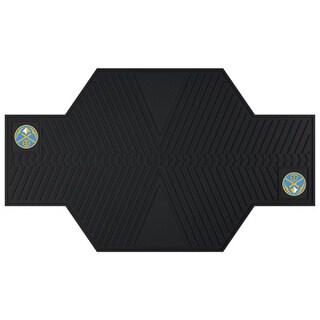Fanmats Denver Nuggets Black Rubber Motorcycle Mat