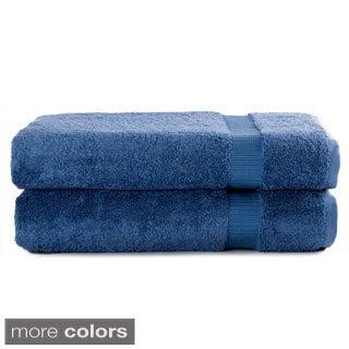 Salbakos Turkish Luxury Hotel & Spa Terry Towel Collection Bath Sheet (Set of 2)
