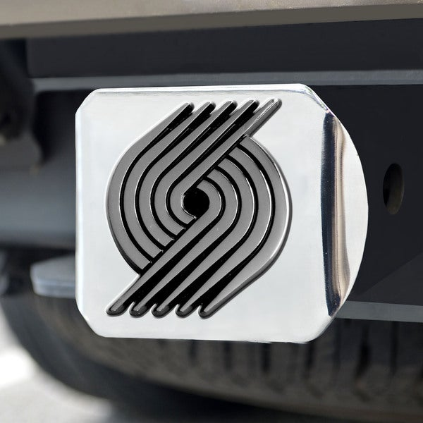 Fanmats Portland Trailblazers Chrome Hitch Cover