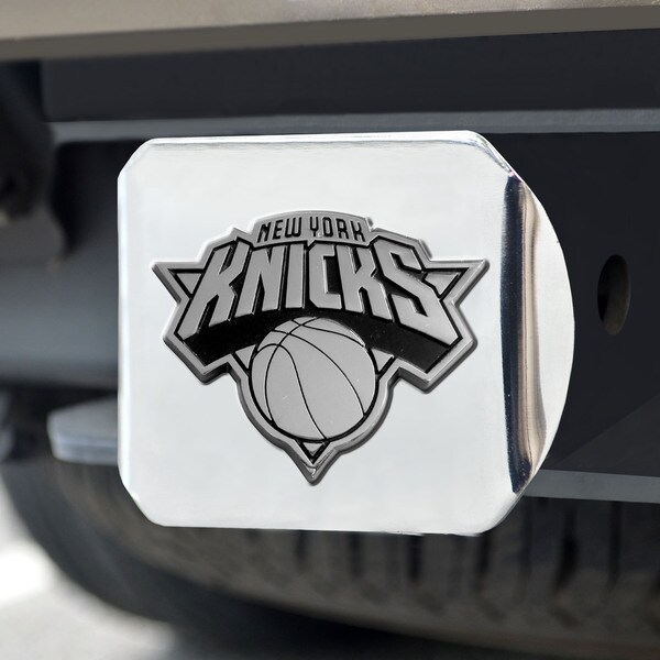 Fanmats New York Knicks Chrome Hitch Cover
