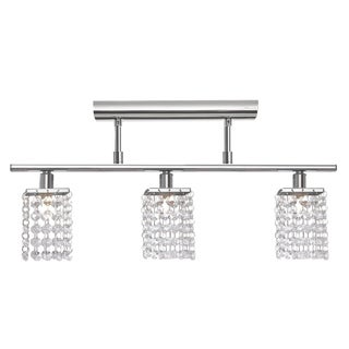 Eglo Pyton Mulit Light Ceiling Light with Chrome Finish and Crystal Strands