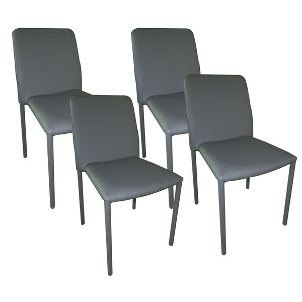 Aurelle Home Dining Chair (Set of 4)