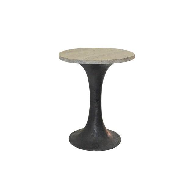 Aurelle Home Blur B Bar Table Round