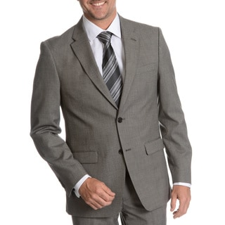 Tommy Hilfiger Men's Black/ White Trim Fit Suit Separate Two Button Blazer
