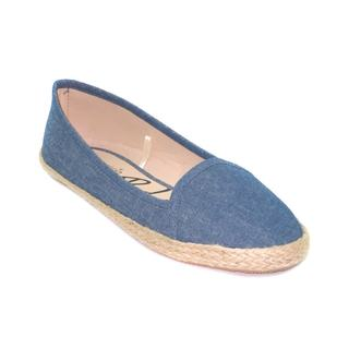 Blue Women's Biza Flats