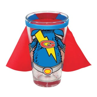 Sesame Street Super Grover Caped 16-ounce Pint Glass