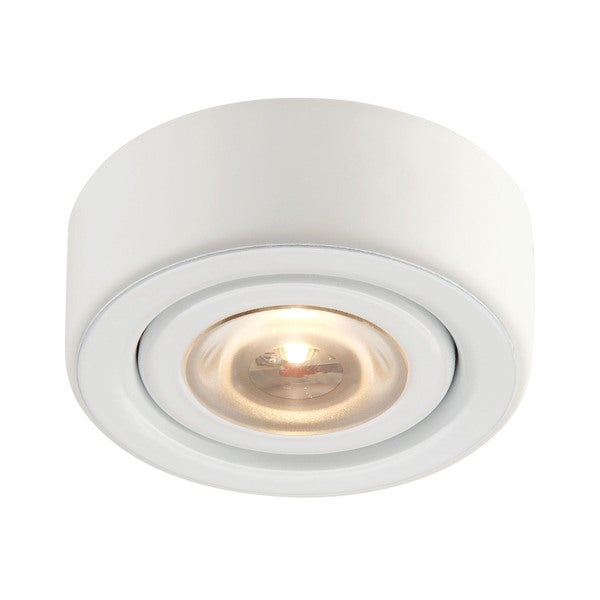 Cornerstone Alpha Collection 1 Light Recessed LED Disc Light In Black