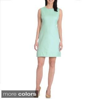Sharagano Women's A-line Stretch Dress