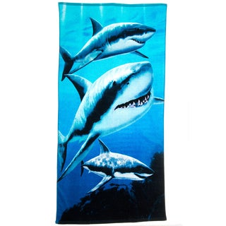 Sharks Beach Towel (Set of 2)
