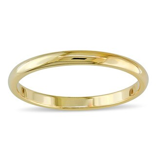 Miadora 14k Yellow Gold Wedding Band