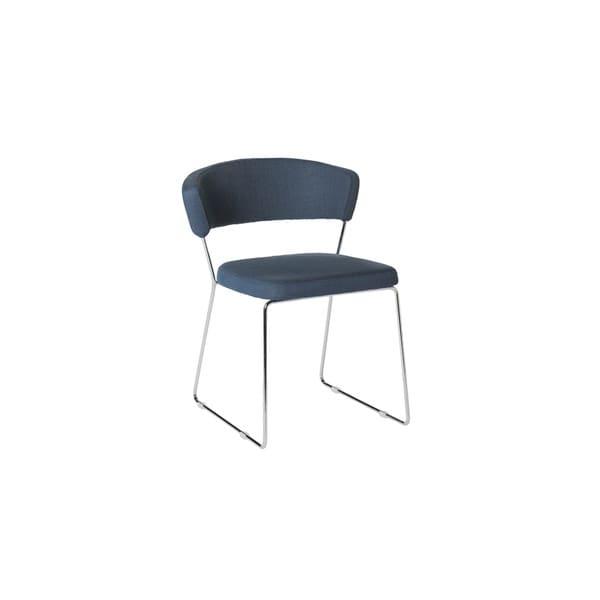 Ingrid Blue Dining Chair (Set Of 2)