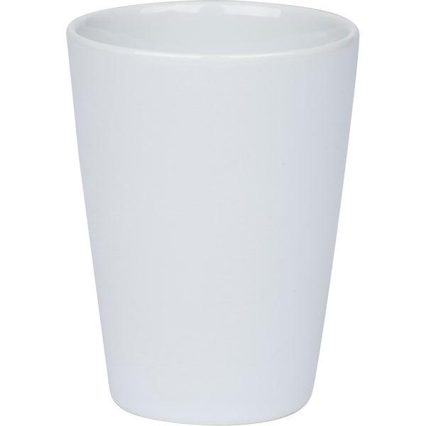 White Ceramic Tumbler