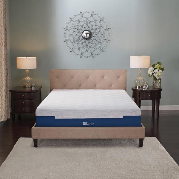 Sleep Sync by LANE 7-inch California King-size Memory Foam Mattress