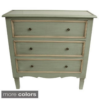 Antique Finished 3-drawer Chest