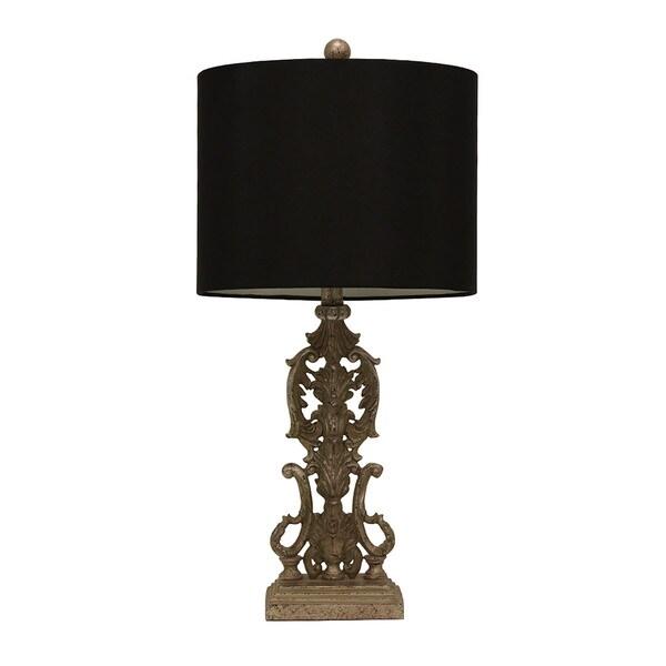 Resin Iron Gate Table Lamp