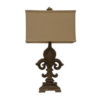 Monticello Fleur De Lis Table Lamp