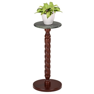 K & B Walnut Flower Stand