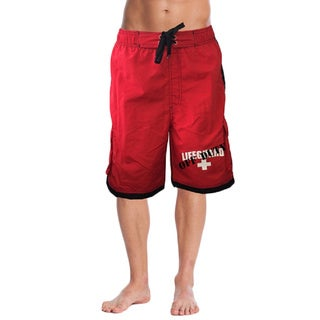 OFF-DUTY Men's Lifeguard Board Shorts